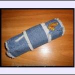 Пенал своими руками из джинсы