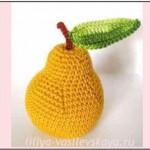 Вязаные фрукты