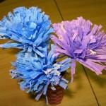 Бумажный цветок