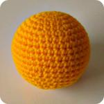Как связать шарик крючком