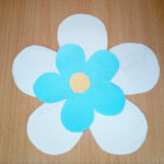 Поделка из бумаги «Цветок»